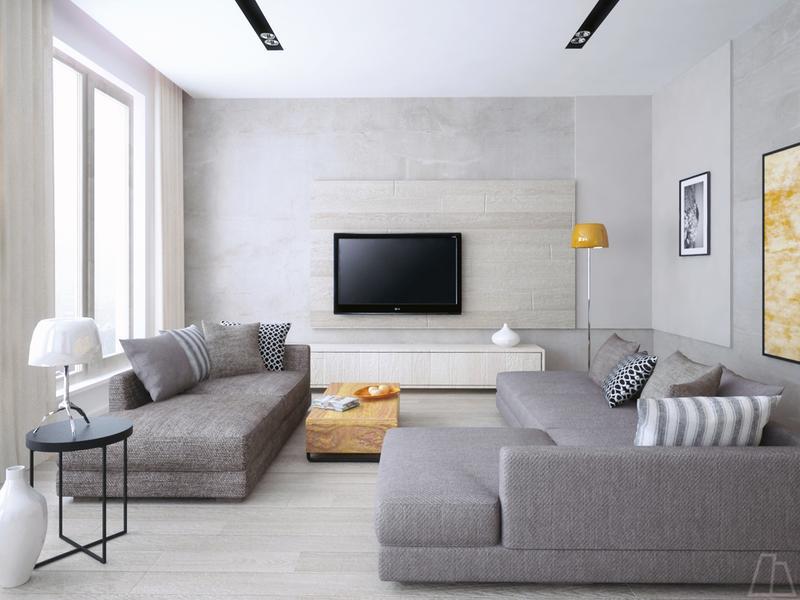 Bọc ghế sofa với chất liệu vải cotton tông màu ghi
