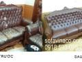 Bọc ghế sofa giả da tại Đống Đa