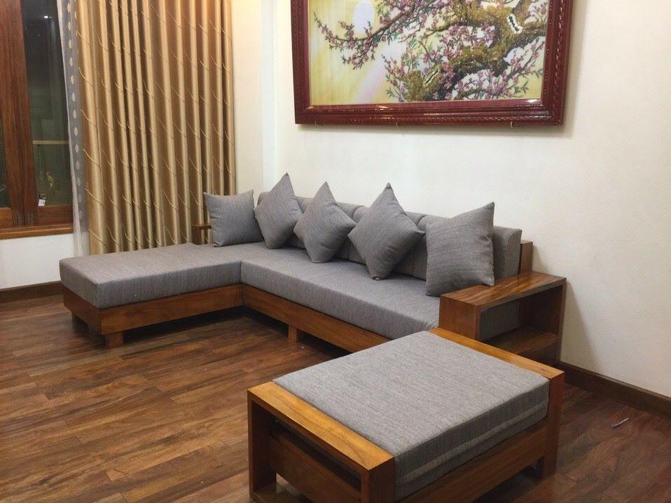 làm đệm ghế sofa gỗ tại Hà Nội