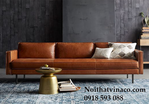 Bọc ghế sofa bằng chất liệu da