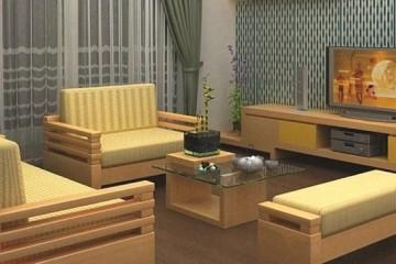 Sofa phòng khách nên chọn khung gỗ hay khung Inox
