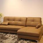 Sofa da chữ L – Lựa chọn mới cho các văn phòng và gia đình hiện đại