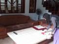 Bộ ghế sofa cũ nhà bác Cường tại khu đô thị Pháp Vân