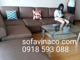 Bọc ghế sofa vải nỉ tại Vinaco