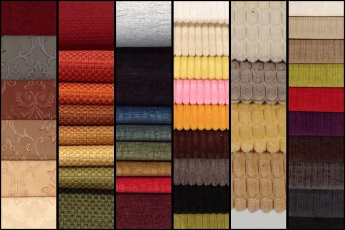 Các loại vải bọc ghế sofa đều có đặc điểm riêng