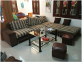Bộ ghế ban đầu nhà chị Linh - Bọc ghế sofa tại Đặng Thai Mai