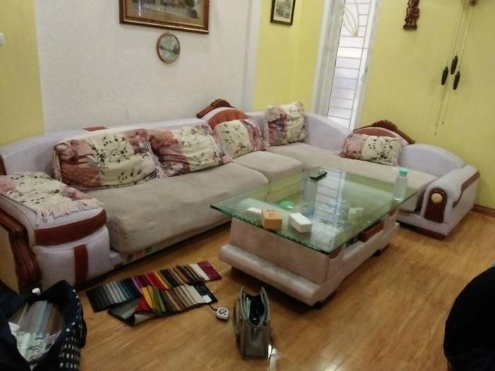 Bộ ghế sofa cũ cần làm đệm tại Định Công