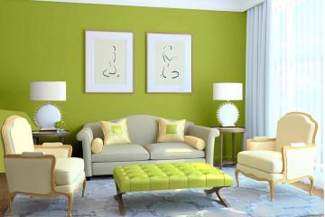 5 cách phối màu cho nội thất phòng khách đẹp hơn