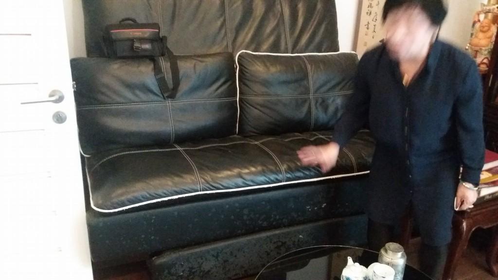 Bộ ghế sofa cũ tại Làng quốc tế Thăng Long