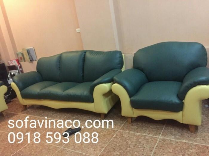 Bộ ghế sofa sau khi bọc lại đã có sự khác biệt rất lớn