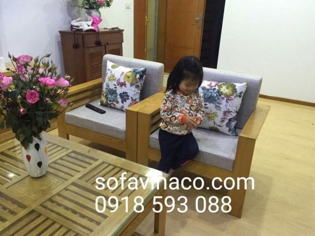Bộ đệm ghế nhà chị Oanh sống tại chung cư Vinaconex số 36 Hồ Từng Mậu