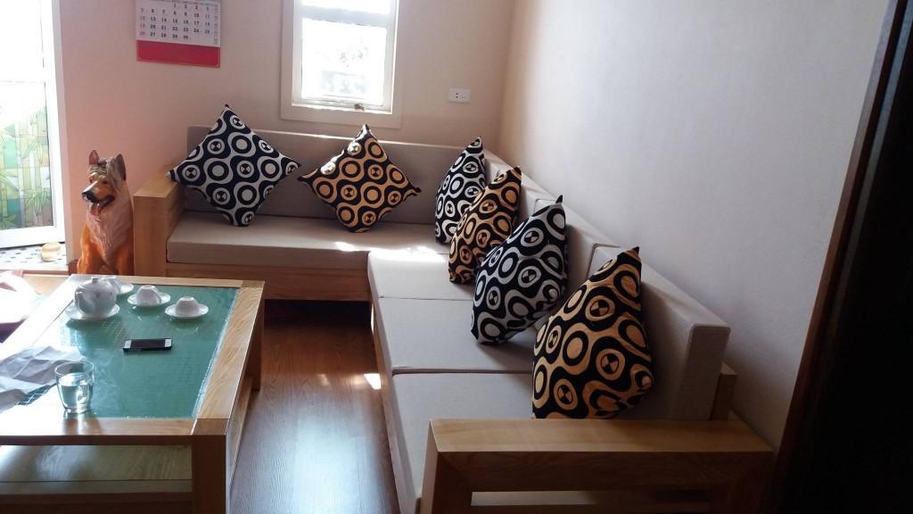 Đệm ghế gỗ tại Yên Nghĩa, Hà Đông