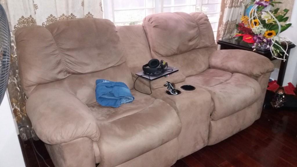 Chiếc ghế massage cũ của Kim Mã