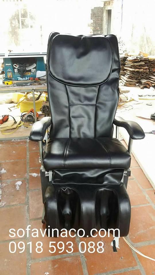 Chiếc ghế đã được bọc lại hoàn thiện tại Vinaco