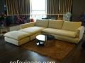 Bộ ghế sofa nhập khẩu sau khi bọc lại