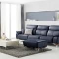 Ghế sofa da cho phòng khách thêm sang trọng