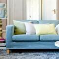 Sự yên bình trong tâm trí nhờ ghế sofa màu xanh dương