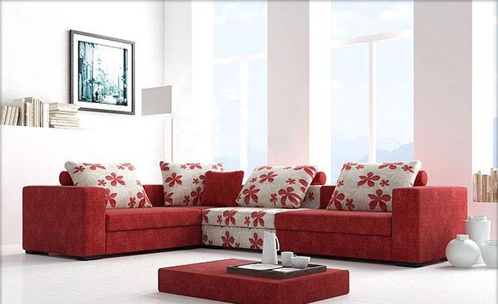 Tạo điểm nhấn cho phòng khách với ghế sofa