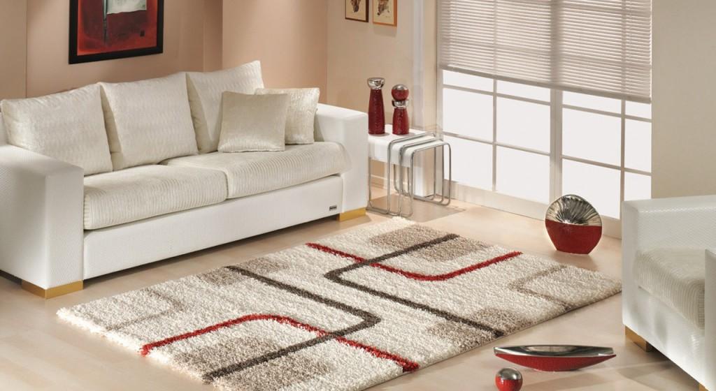 Dùng thảm trang trí sẽ tạo nên điểm thu hút cho phòng khách của bạn