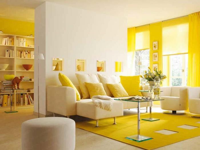 Màu vàng của nắng vàng rực rỡ khiến bạn có cảm giác đang ở mùa hè