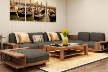 Nên chọn loại đệm nào để làm đệm ghế sofa gỗ