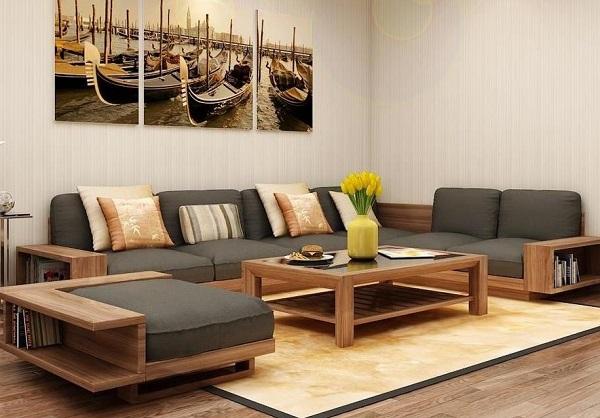 Nên chọn loại đêm nào để làm đệm ghế sofa gỗ