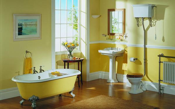 Màu vàng nhạt sẽ mang lại cảm giác nhẹ nhàng thoải mái