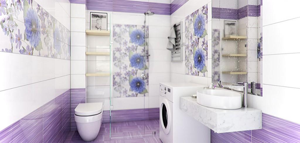 Trang trí thêm một số bông hoa tím sẽ làm tăng sự nhã nhặn