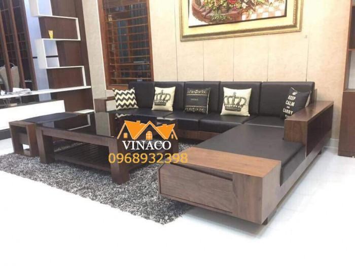 Đệm ghế bằng da cho ghế sofa gỗ L
