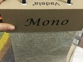 Vẻ ngoài của quyển vải thô Mono