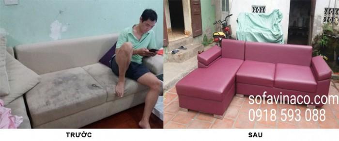 Dịch vụ bọc ghế sofa sẽ khiến chiếc ghế mốc meoo trở lên như mới