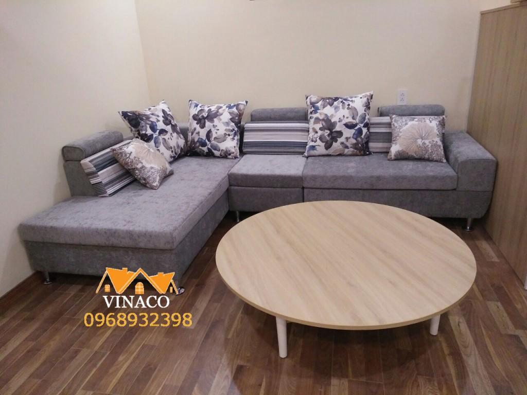 Bộ ghế sofa mới đã hoàn thành và giao đến Nguyễn Văn Huyên