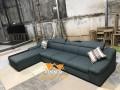 Và khi đã hoàn thành tại xưởng, bộ ghế sofa mới sẽ được chuyển đến gia đình khách hàng