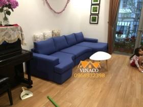 Thay vỏ bọc ghế sofa đồng thời thay cả đệm