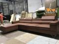 Bộ ghế sofa mới được đóng xong đang chuẩn bị giao đến Hà Đông