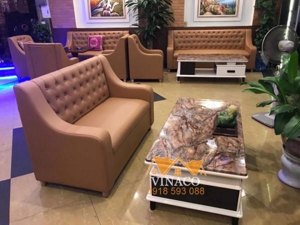 Ghế sofa phòng chờ cao cấp của Vinaco đã được giao đến cho khách hàng