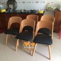 Bọc ghế ăn 5 chiếc đã hoàn thành