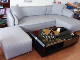 Dịch vụ bọc ghế sofa vải của Vinaco đã thay đổi hoàn toàn bộ ghế rách lúc trước