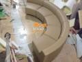 Kiều ghế này được thiết kế cong mềm mại