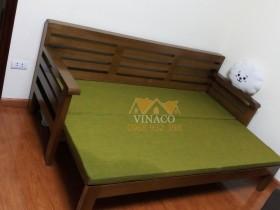 Bộ đệm ghế cho bộ ghế sofa giường bằng gỗ