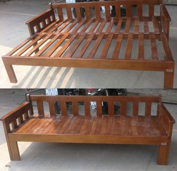 Loại ghế sofa giường gỗ kéo