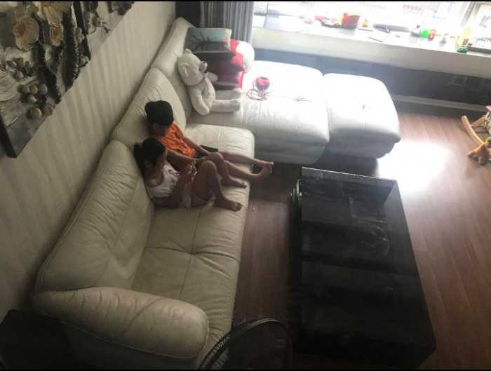 Bộ ghế sofa do chị Minh chụp gửi về cho Vinaco để báo giá