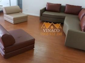 Công trình bọc lại ghế sofa cho cô Thảo đã hoàn tất