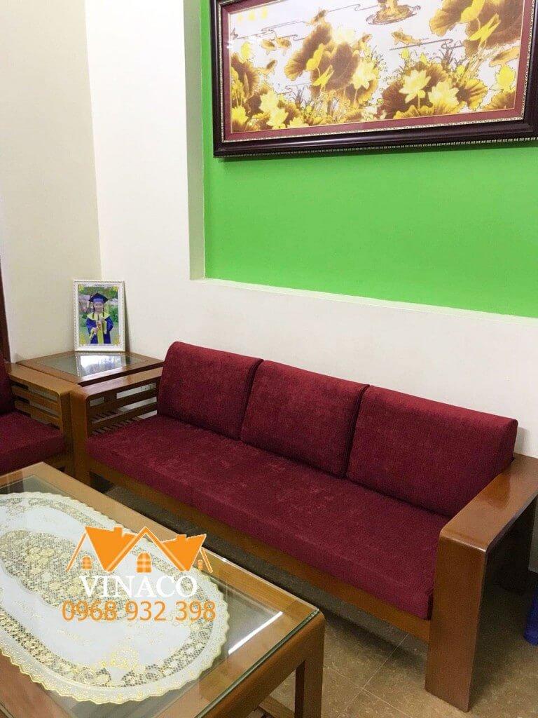 Làm đệm ghế gỗ cùng Vinaco Việt Nam