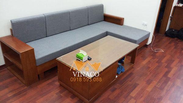 Đệm ghế gỗ bằng bông ép dễ sử dụng đồng thời có độ bền cao