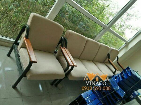 Bọc ghế phòng chờ Viện bảo tàng di tích 489 Nguyễn Trãi