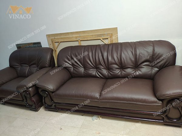 Công trình bọc ghế sofa da tại Cipucha Tây Hồ đã được hoàn thành xuất sắc