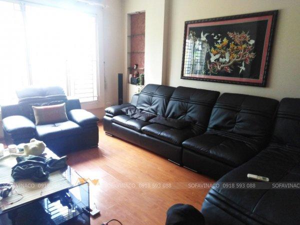 Bọc ghế sofa bằng da chống cháy chống xước siêu bền