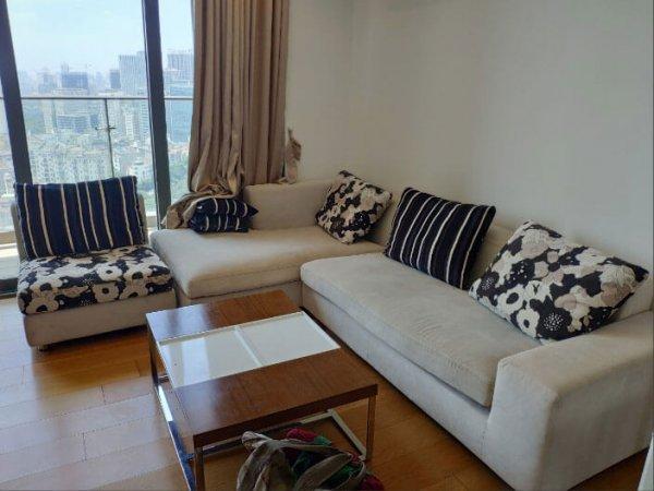 Bộ ghế sofa cũ bị bẩn của gia đình ở Xuân Thủy, Cầu Giấy