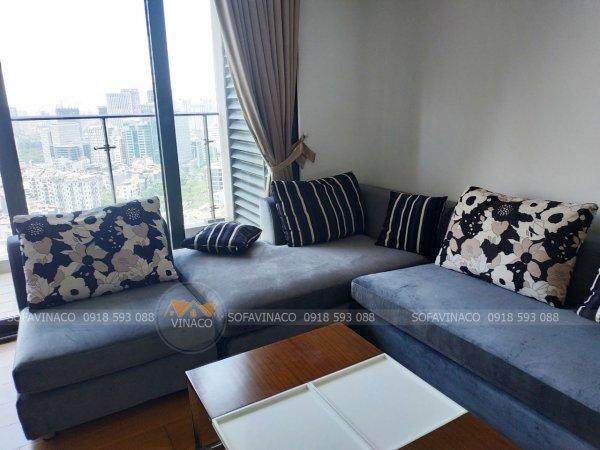 Công trình bọc ghế vải nhung đã hoàn thành tại toàn Indochina Xuân Thủy
